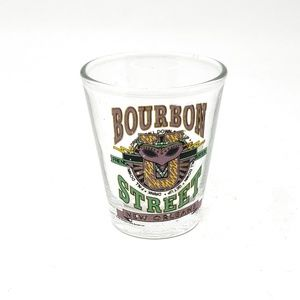 Other - 4/$25 New Orleans Bourbon Street Clear Shot Glass